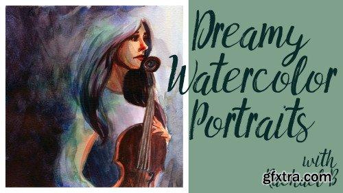 Paint a Dreamy Portrait with Watercolor