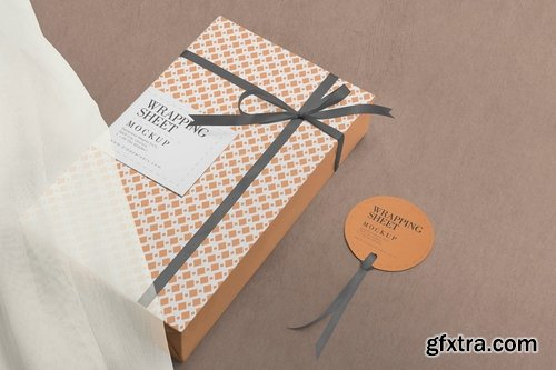 Wrapping Paper Mockups