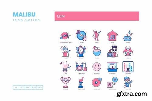 70 EDM Icons Malibu Series