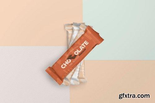 Luscious Chocolate Packaging Mockups