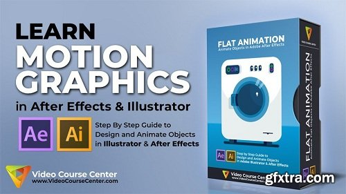After Effects: Master Motion Graphics & Flat Animation Buildup