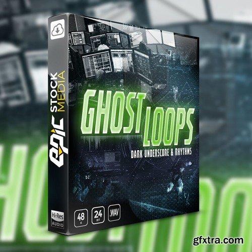 Epic Stock Media Ghost Loops Dark Underscore and Rhythms WAV