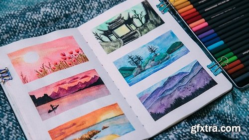 How to fill a Sketchbook from Start to Finish