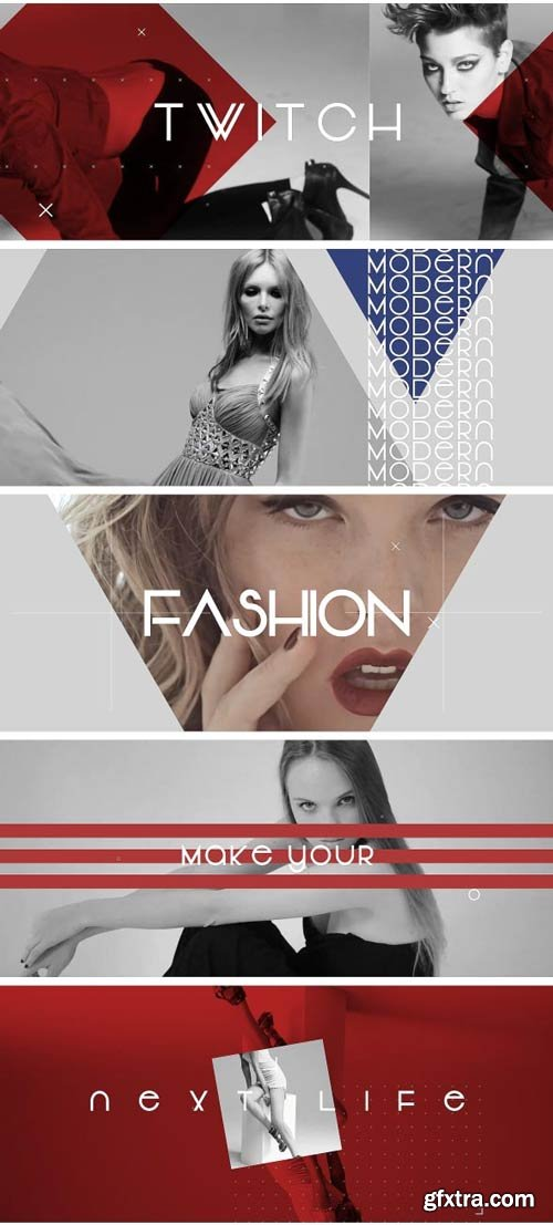 Videohive - Slideshow Fashion Dynamic - 19358672