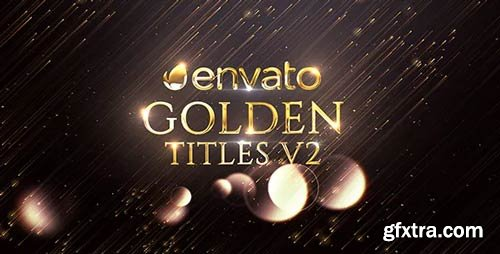 Videohive - Golden Titles V.2 - 20919181