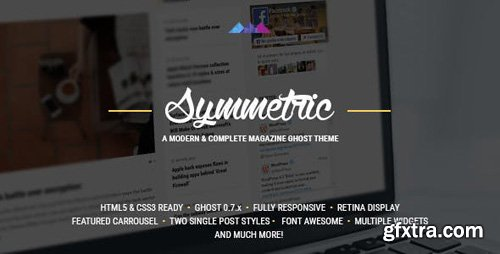 ThemeForest - Symmetric v5.5.0 - A Magazine Theme for Ghost - 13217781