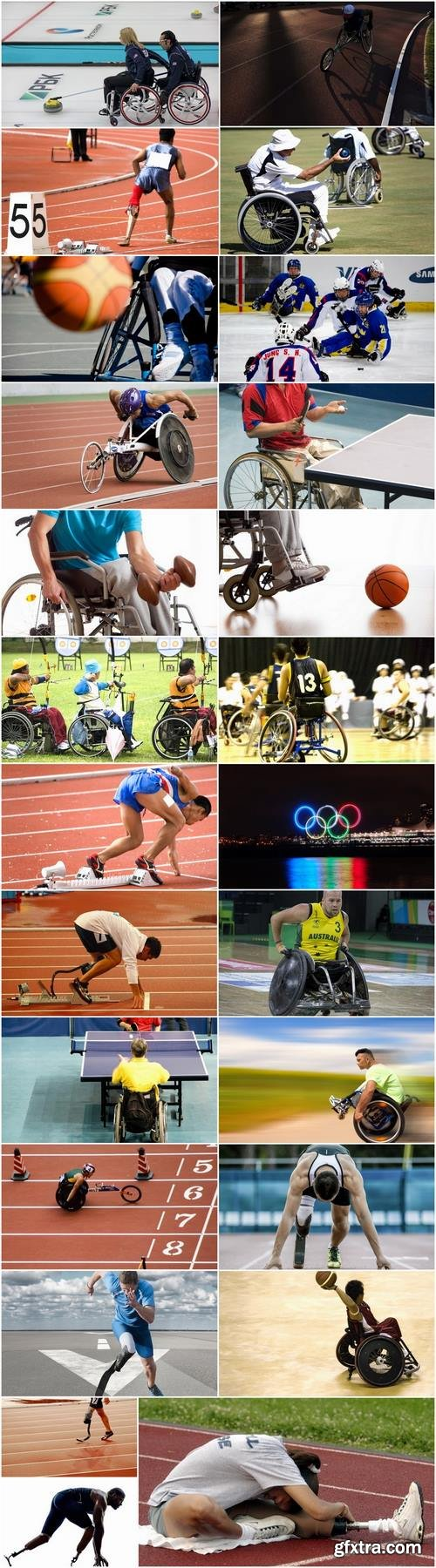 Paralympic sports disabled wheelchair race seat prosthesis implant 25 HQ Jpeg
