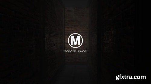 MotionArray Horror Corridor Logo 198886