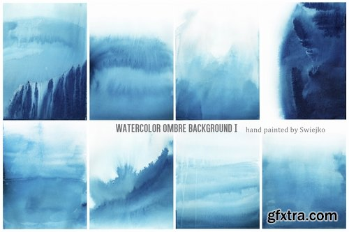Watercolor Ombre Background I