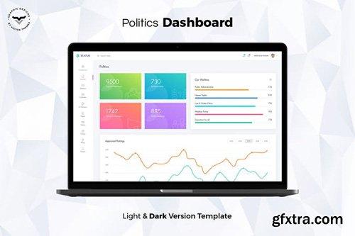 Politics Admin Dashboard UI Kit