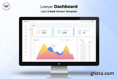 Lawyer Admin Dashboard UI Kit