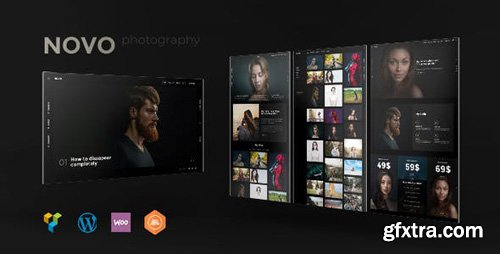 ThemeForest - Photography Novo v2.4.0 - Photography WordPress for Photography - 20701463 - NULLED