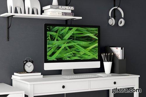Desktop Display Mockup