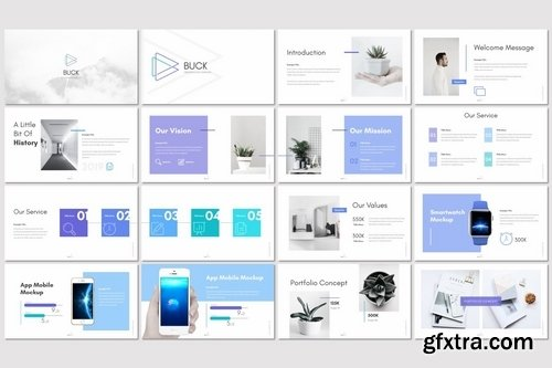 Buck - Powerpoint Keynote and Google Slides Templates