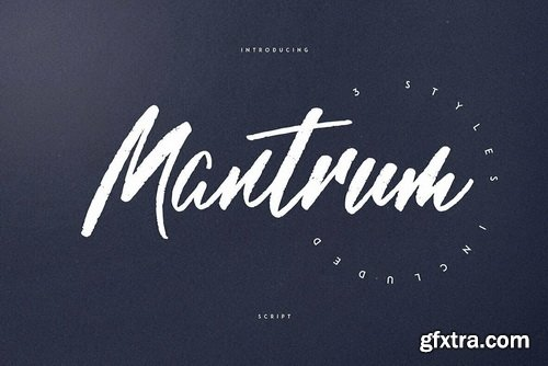Mantrum Font Family