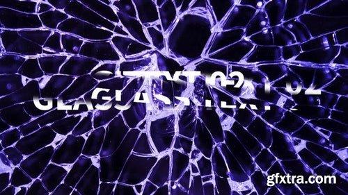 MotionArray Glass Text 199107