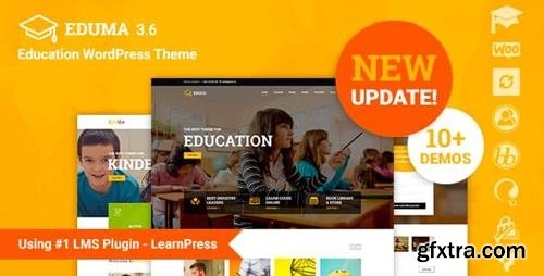 ThemeForest - Eduma v4.0.1.1 - Education WordPress Theme   Education WP - 14058034 - NULLED