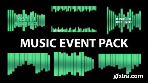 MotionArray Music Event Pack 199549