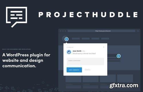 ProjectHuddle v3.1.6 - WordPress Plugin For Website Design Communication