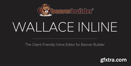Wallace Inline v2.0.3 - Front-end editor for Beaver Builder