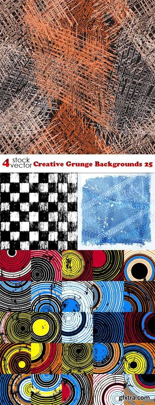 Vectors - Creative Grunge Backgrounds 25