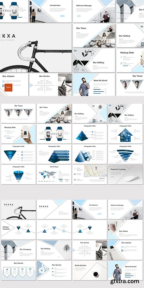 Rekxa - Powerpoint, Keynote and Google Slides Templates
