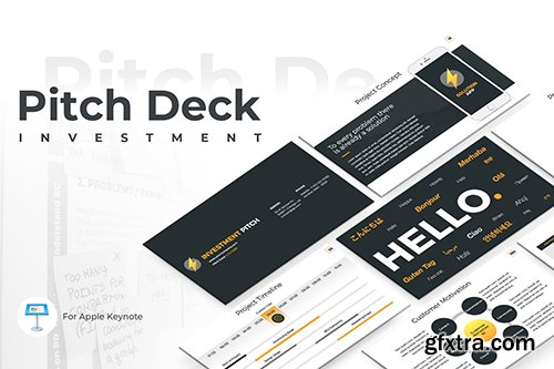 Pitch Deck PowerPoint and Keynote Template