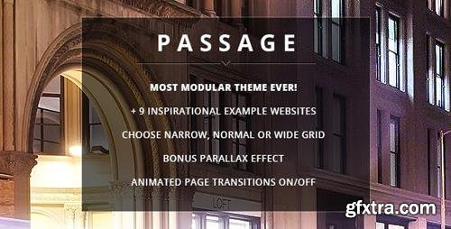 ThemeForest - Passage v2.0.0 - Responsive Retina Multi-Purpose Theme - 5188123