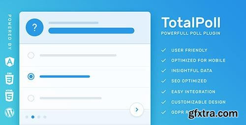 CodeCanyon - TotalPoll Pro v4.0.3 - Responsive WordPress Poll Plugin - 7647147 - NULLED