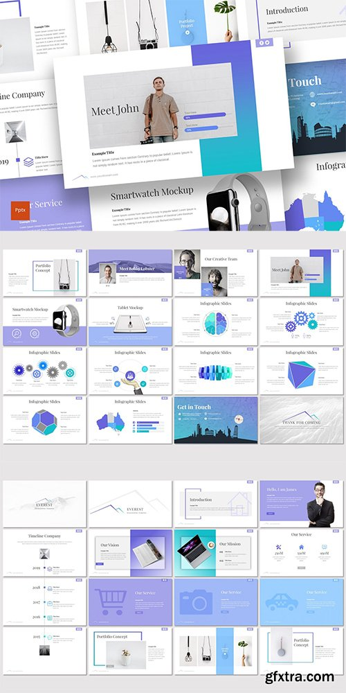 Everest - Powerpoint, Keynote and Google Slides Templates