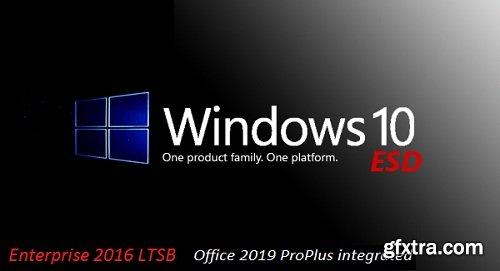 Windows 10 Enterprise 2016 LTSB incl Office 2019 x64 March 2019