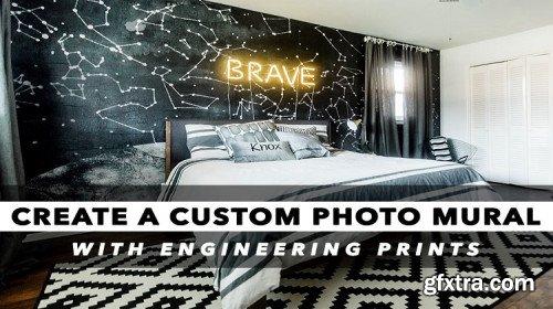 Custom Photo Murals with Engineering Prints