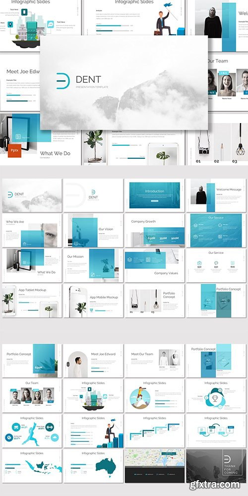 Dent - Powerpoint, Keynote and Google Slides Templates