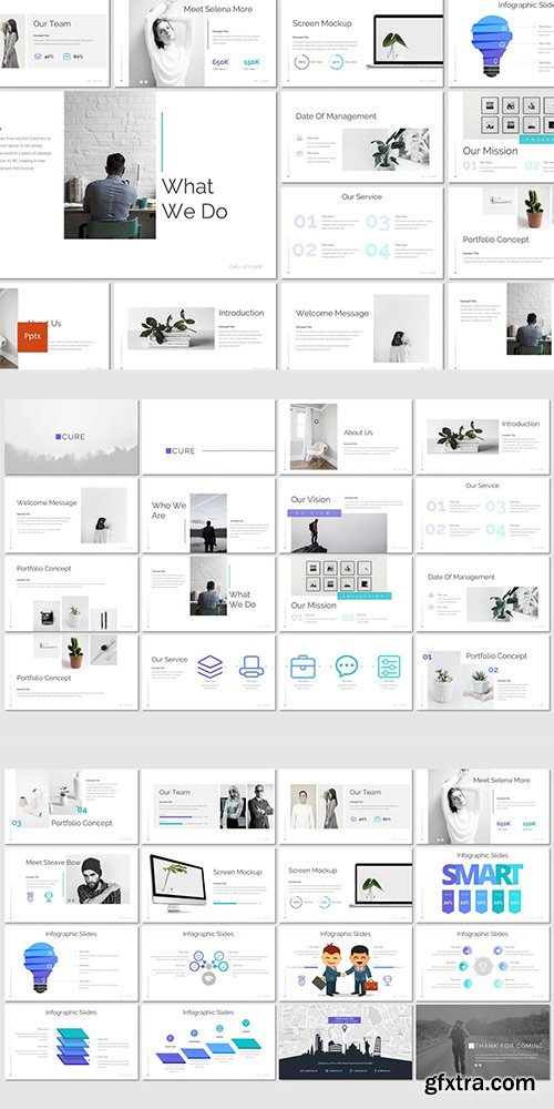 Cure - Powerpoint, Keynote and Google Slides Templates