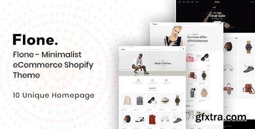 ThemeForest - Flone v1.0 - Minimalist eCommerce Shopify Theme - 23362593