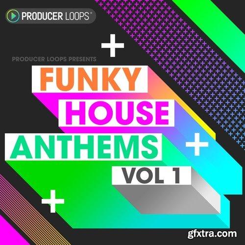 Producer Loops Funky House Anthems Vol 1 ACiD WAV MiDi REX