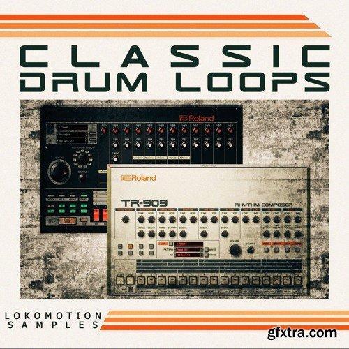 Loko Motion Records Classic Drum Loops WAV