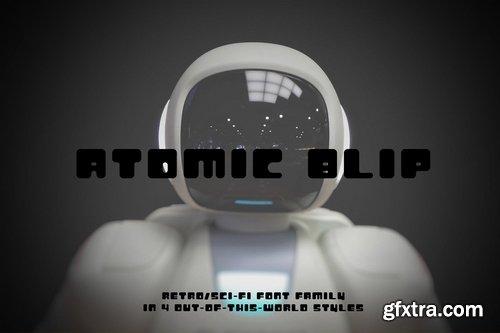 CM - Atomic Blip Font of the Future! 3606401