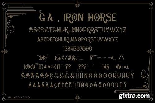 CM - G.A Iron Horse 3607367