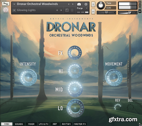 Gothic Instruments DRONAR Orchestral Woodwinds KONTAKT-AwZ