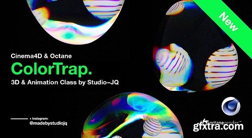 ColorTrap | Create Super Cool Refractive Art in Cinema4D & Octane