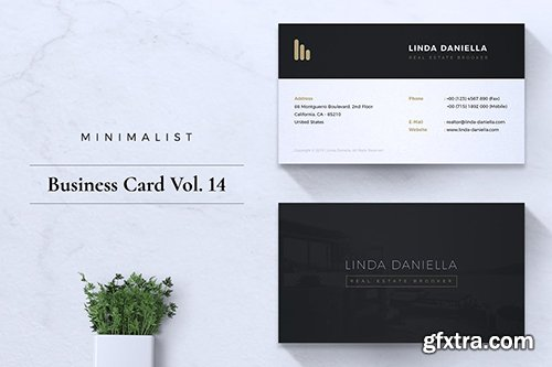 Minimalist Business Card Vol. 14