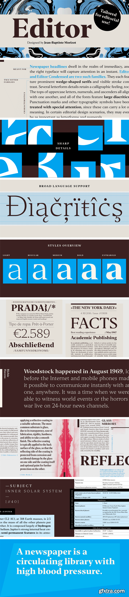 Editor Font Family (Updated)