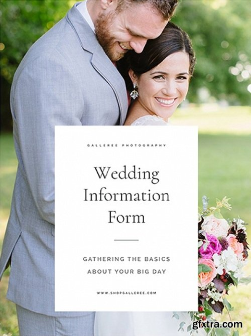 New Client Info Form: Weddings