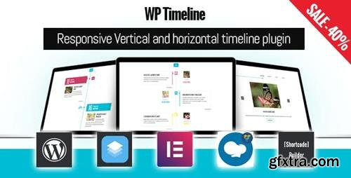 CodeCanyon - WP Timeline v3.3.2 - Responsive Vertical and Horizontal timeline plugin - 17664690