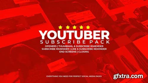 Videohive - Youtuber Subscribe Pack - 23490765