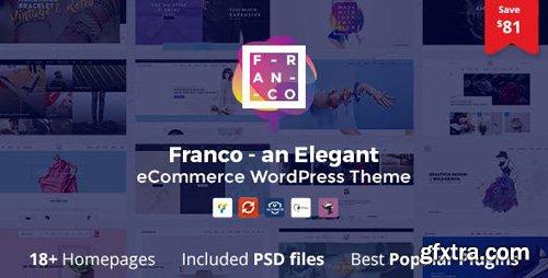 ThemeForest - Franco v1.3.1 - Elegant WooCommerce WordPress Theme - 17155968