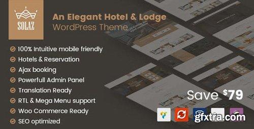 ThemeForest - Solaz v1.1.4 - An Elegant Hotel & Lodge WordPress Theme - 19509817