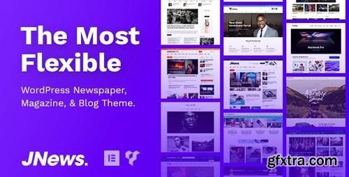 ThemeForest - JNews v4.0.3 - WordPress Newspaper Magazine Blog AMP Theme - 20566392 - NULLED
