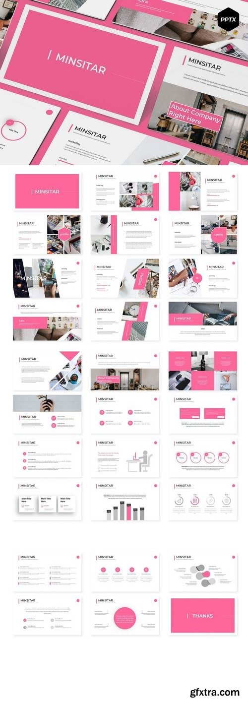 Ministar - Powerpoint, Keynote, Google Sliders Templates
